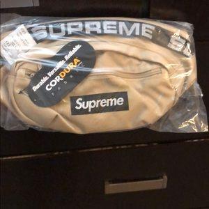 Tan supreme waist bag
